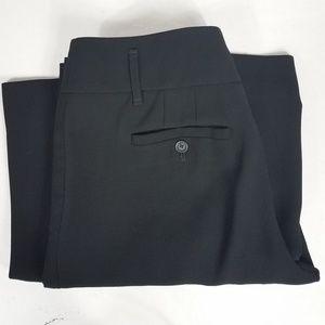 Loft KATE Black Wide Leg Trouser Size 8